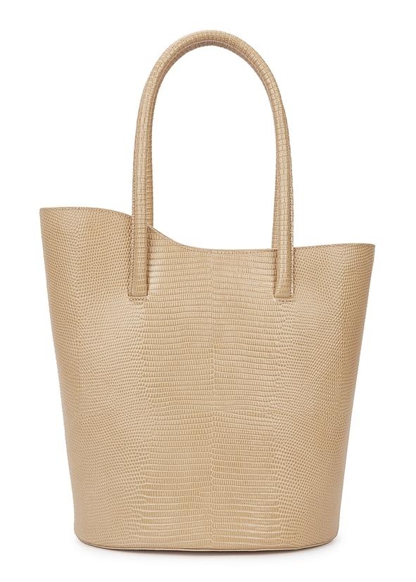 Tulip lizard-effect top handle bag ... c994dd8229515