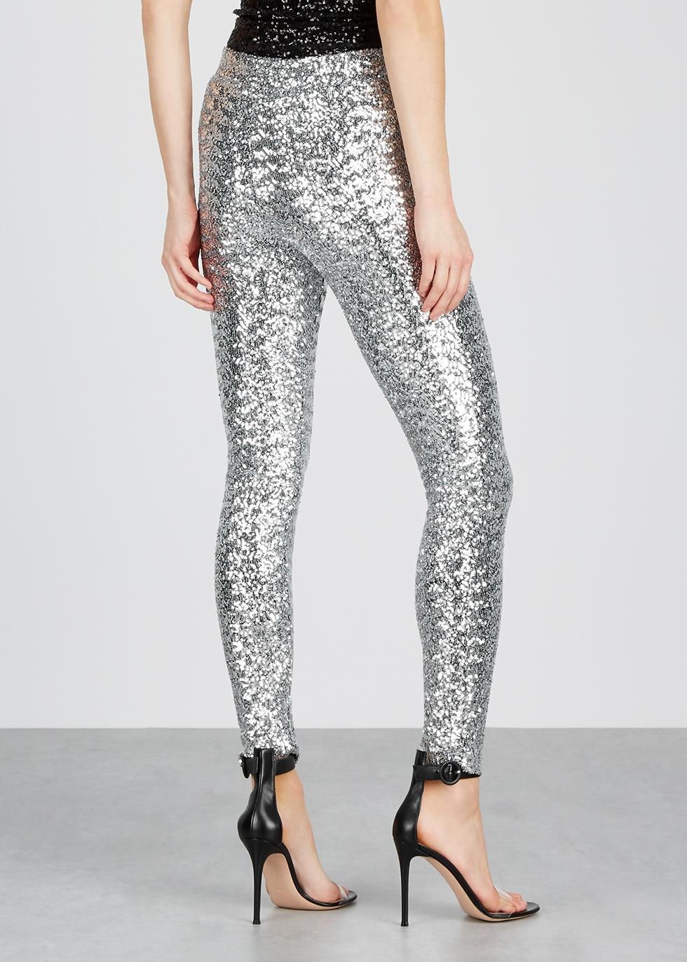 Odiz silver sequin trousers - Isabel Marant