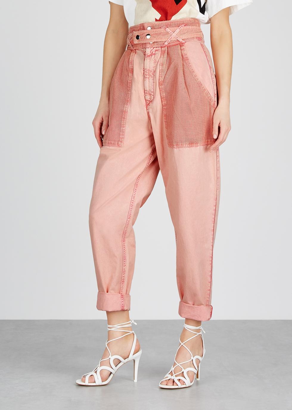 Turner pink tapered jeans - Isabel Marant