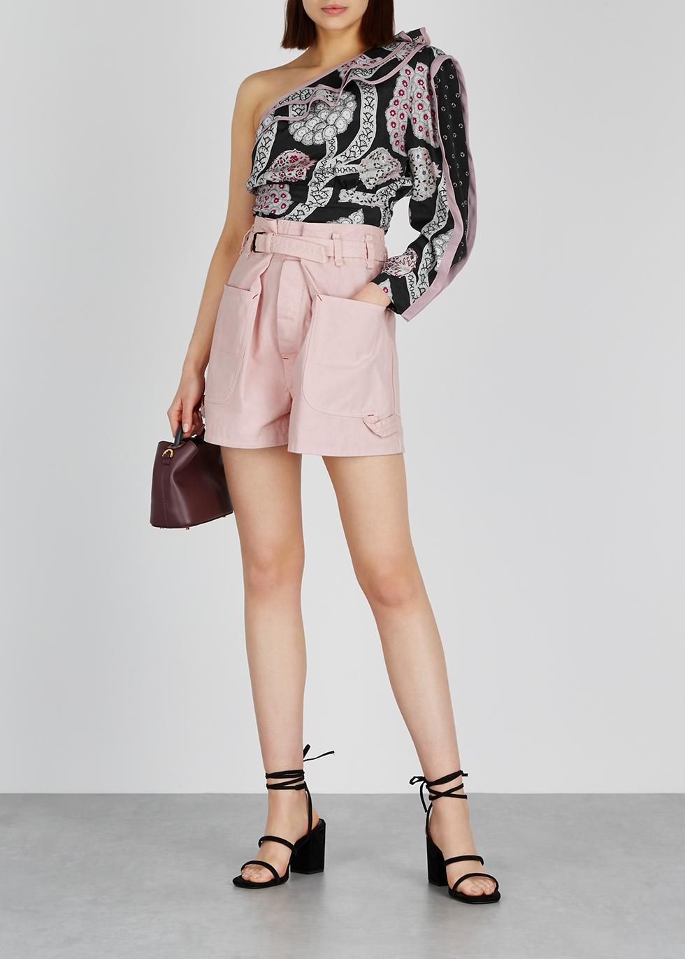 Ike pink denim shorts - Isabel Marant