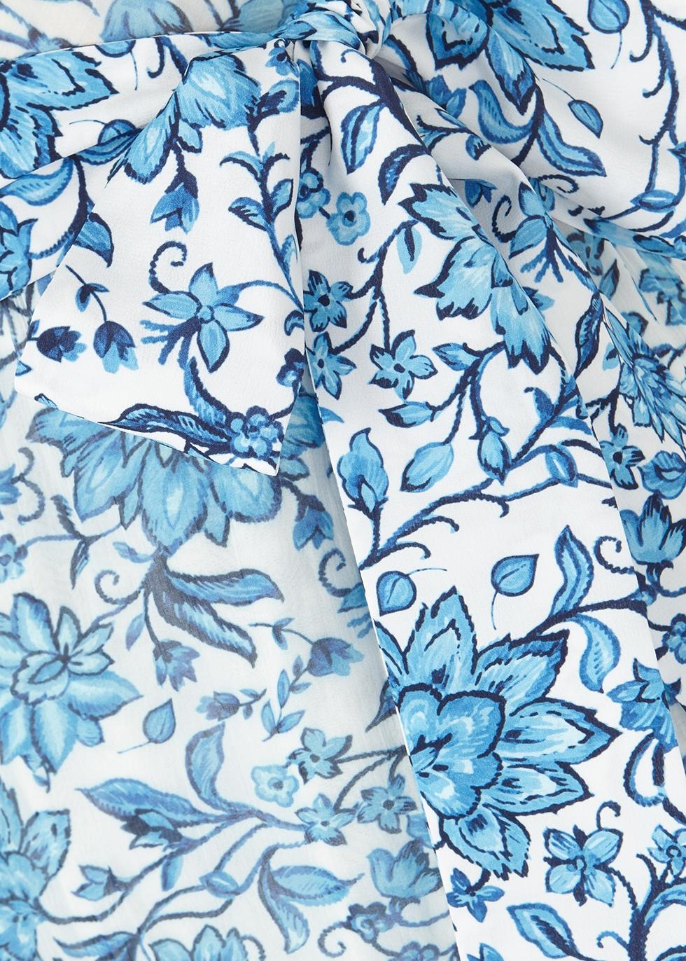 Tevi floral georgette midi dress - Alice + Olivia