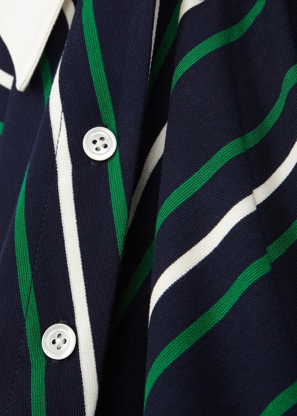 Striped jersey dress - MONSE
