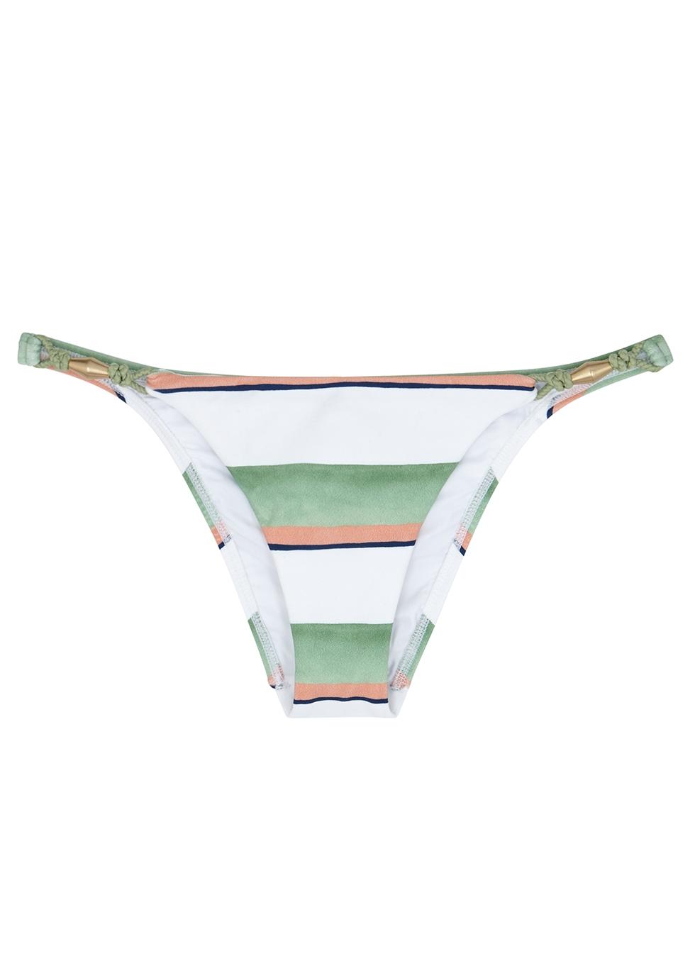 Calala Balloon striped bikini briefs - V i X Paula Hermanny