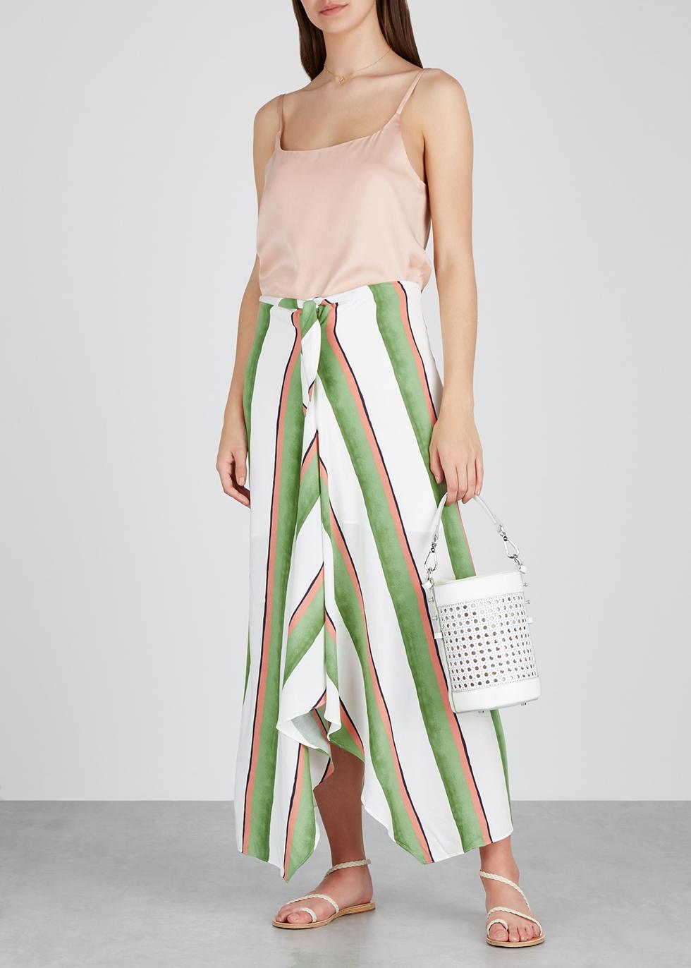Calala Jaque striped midi skirt - V i X Paula Hermanny