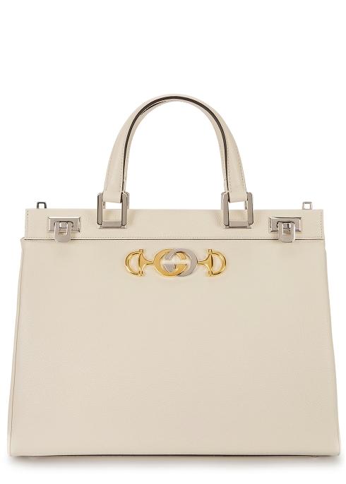 565c0a674f37 Gucci Zumi medium leather top handle bag - Harvey Nichols