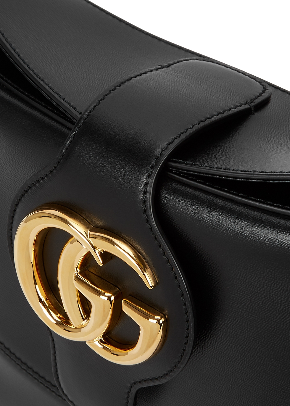Arli medium black leather shoulder bag - Gucci
