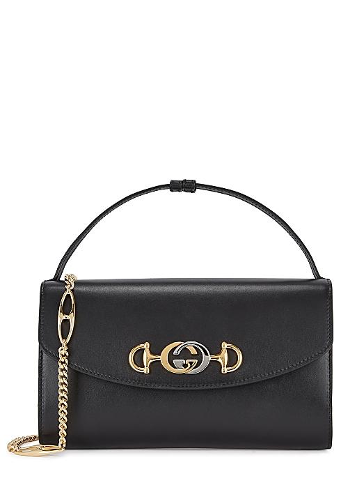 1be69daa18 Gucci Zumi small leather shoulder bag - Harvey Nichols