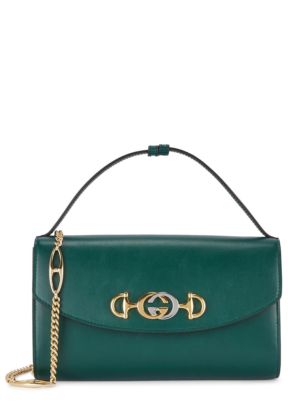 8e7daefa1cafa Gucci Zumi small leather shoulder bag - Harvey Nichols