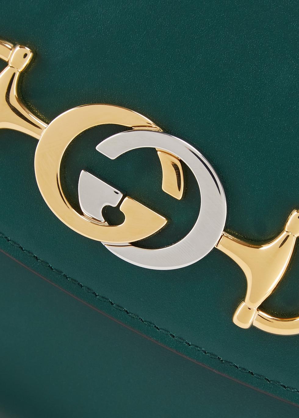 Zumi small leather shoulder bag - Gucci
