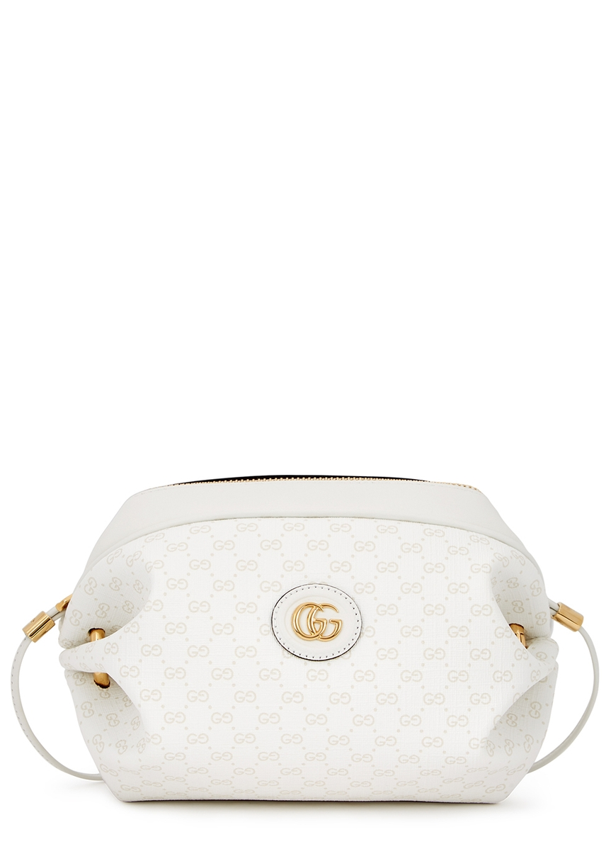 5166c103806b Mini GG white shoulder bag ...