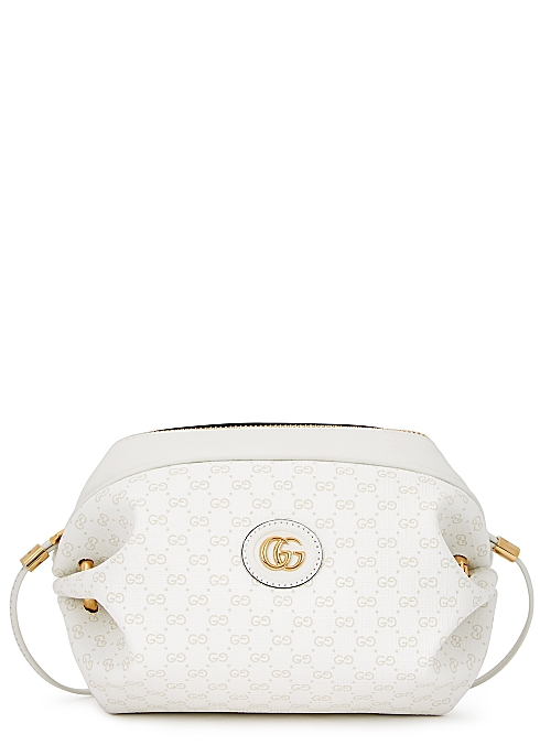 d007d569c5 Gucci Mini GG white shoulder bag - Harvey Nichols
