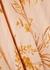 Floral-print silk-blend chiffon midi skirt - Joie