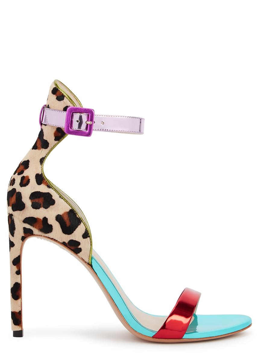 28e28e6057c Nicole 100 metallic leather sandals Nicole 100 metallic leather sandals. New  Season. Sophia Webster
