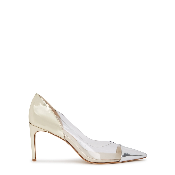Sophia Webster Pumps DARIA 80 LEATHER AND PERSPEX PUMPS