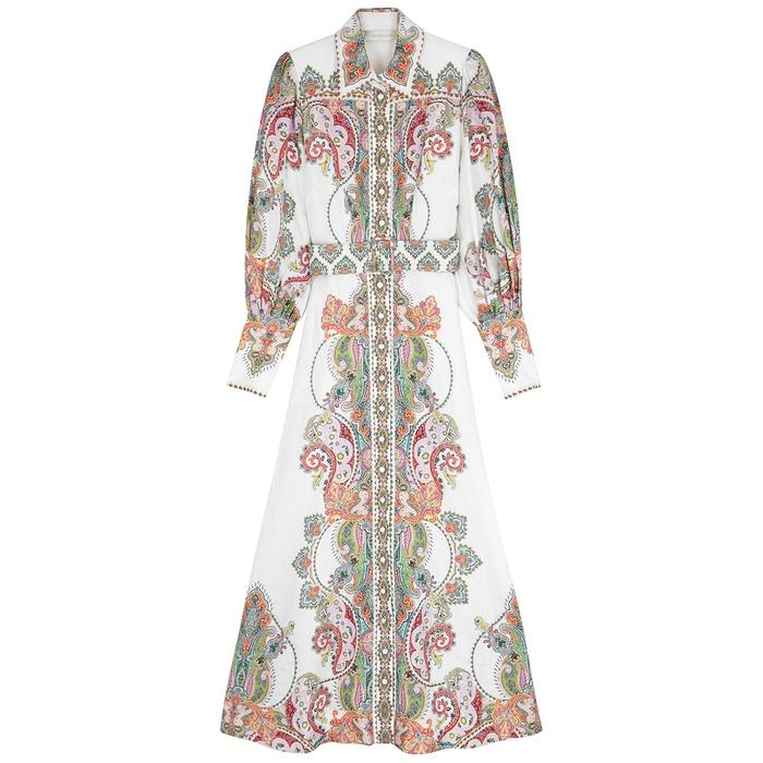 Zimmermann Dresses Ninety-Six Filigree linen dress