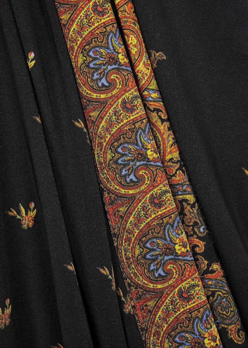 Printed jersey midi dress - Paco Rabanne