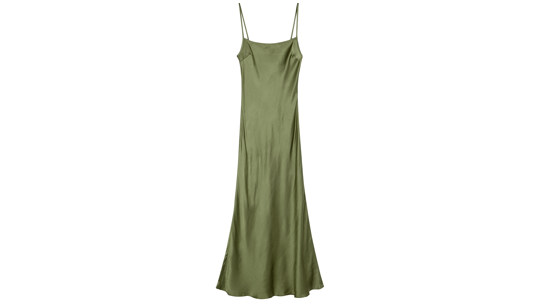 c527d64319e Bec   Bridge Midnight Dance sage satin midi dress - Harvey Nichols