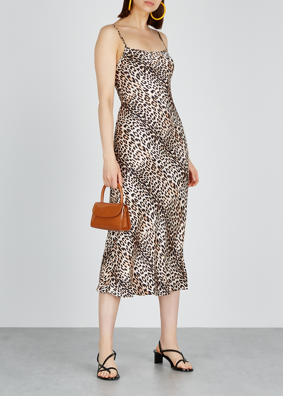 Feline leopard-print silk midi dress - Bec & Bridge