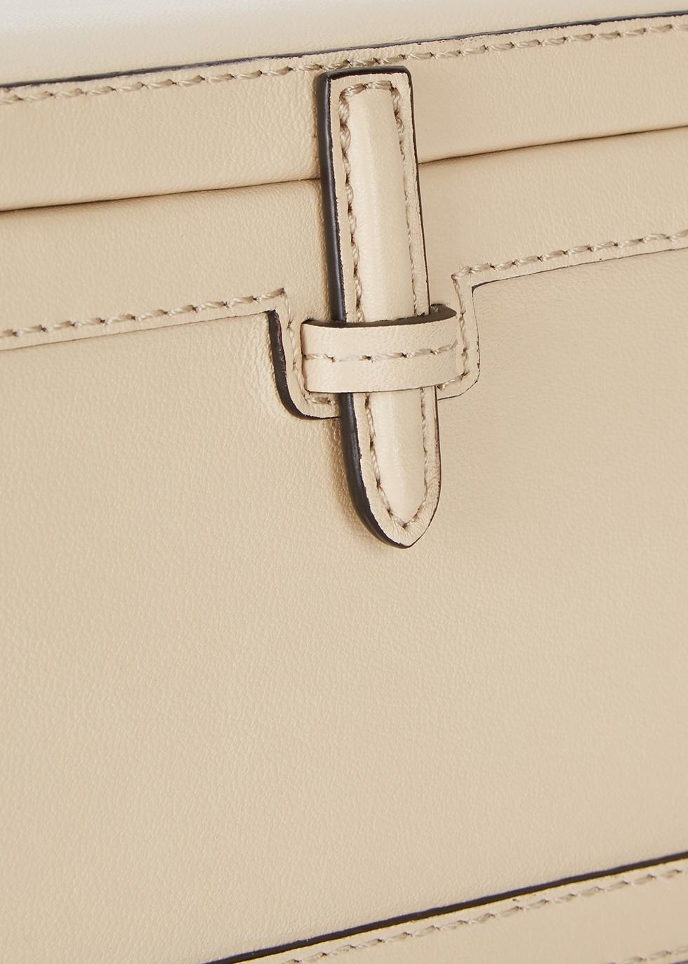 Ivory leather cross-body bag - Hunting Season