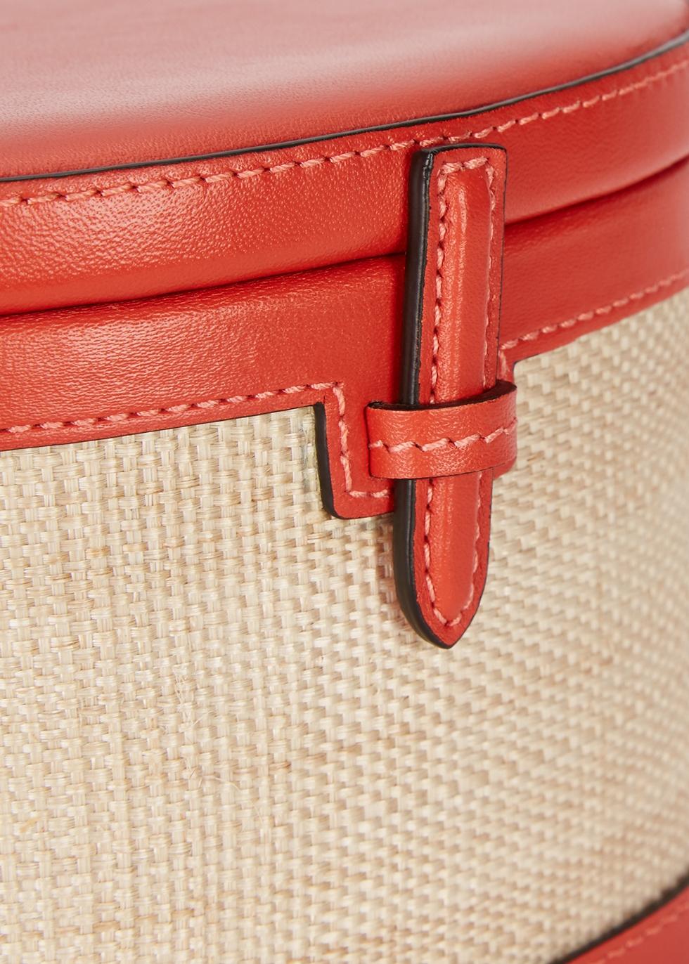 Red leather bucket bag - Hunting Season