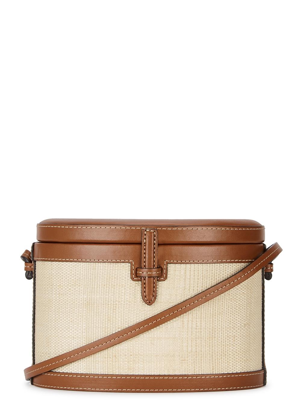 Brown leather bucket bag - Hunting Season