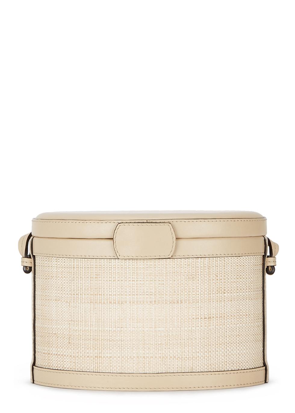 Ivory leather bucket bag - Hunting Season
