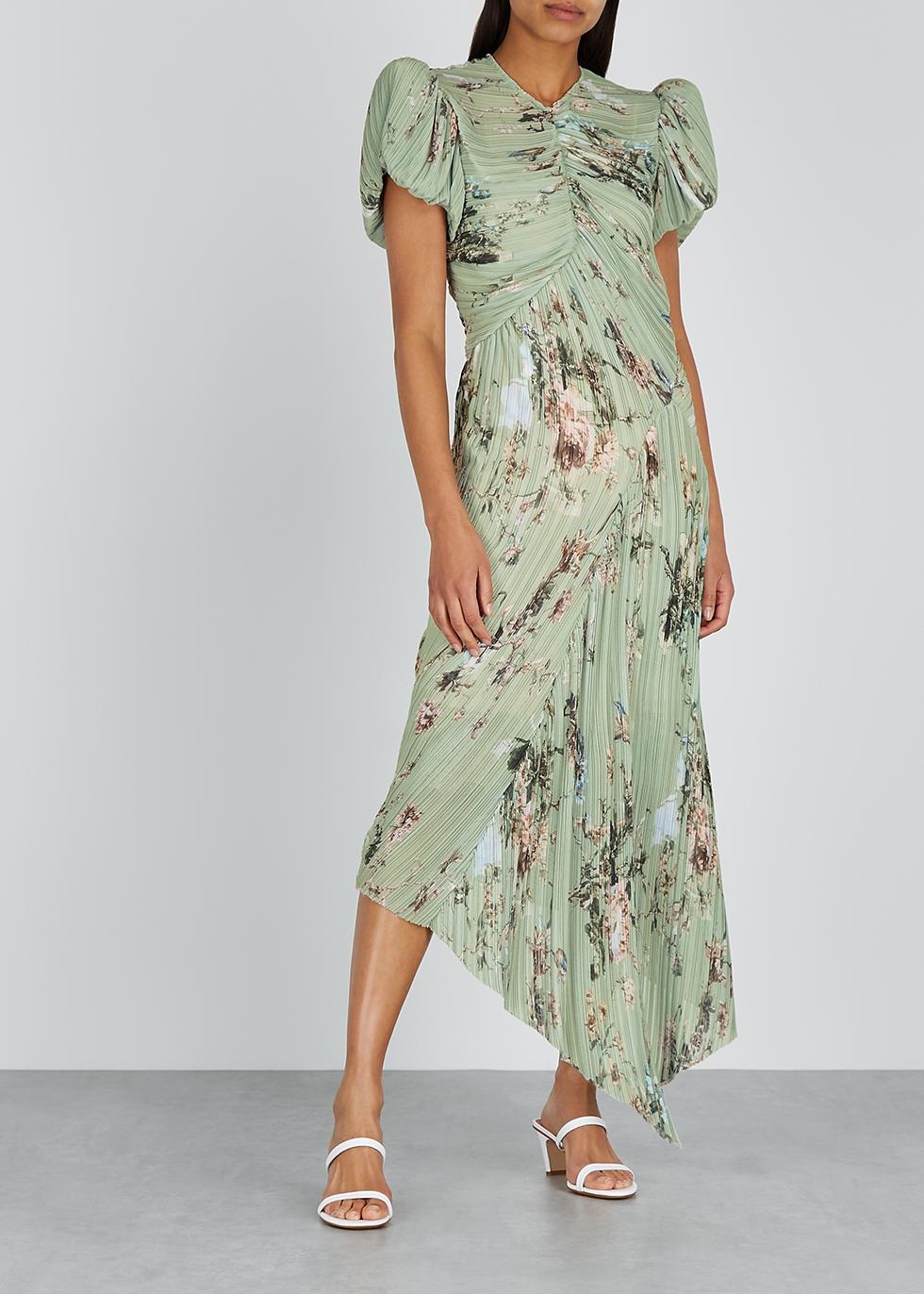 Tessa floral-print georgette midi dress - Preen By Thornton Bregazzi