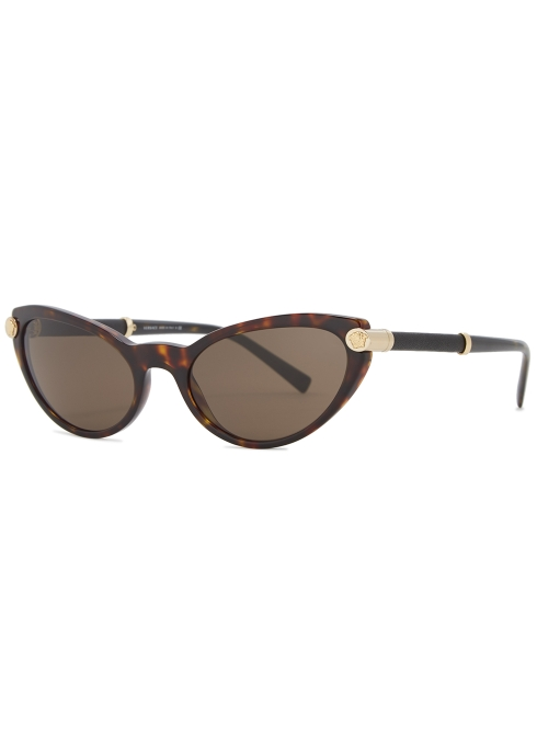 666b9db06c7 Versace V-rock tortoiseshell cat-eye sunglasses - Harvey Nichols