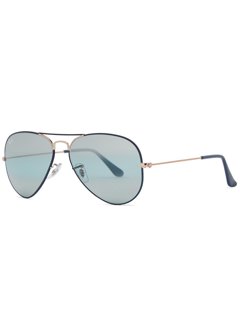 Aviator mirrored sunglasses - Ray-Ban