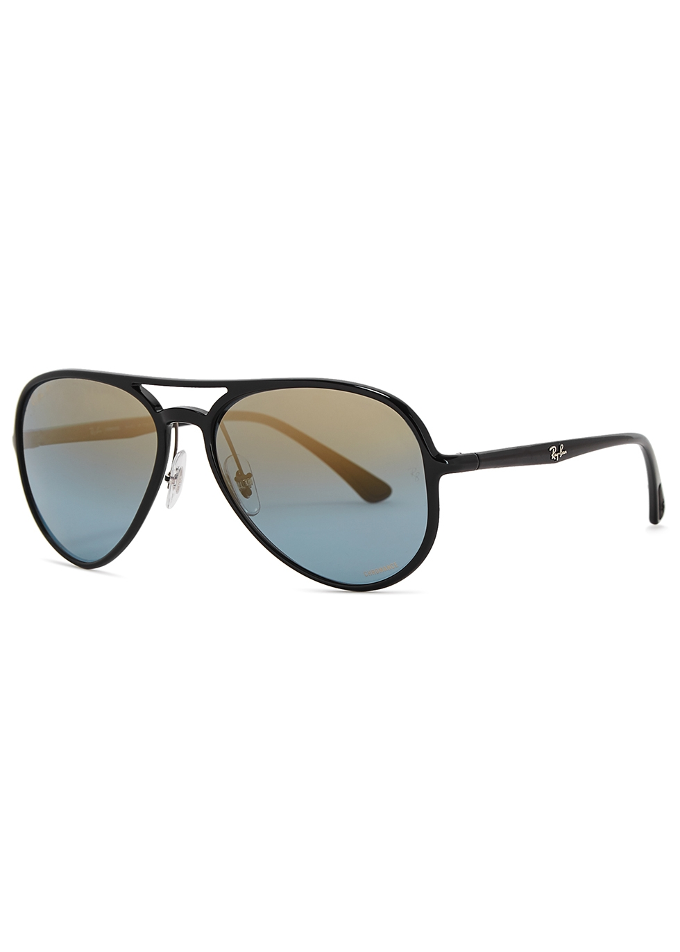 Aviator black mirrored sunglasses - Ray-Ban