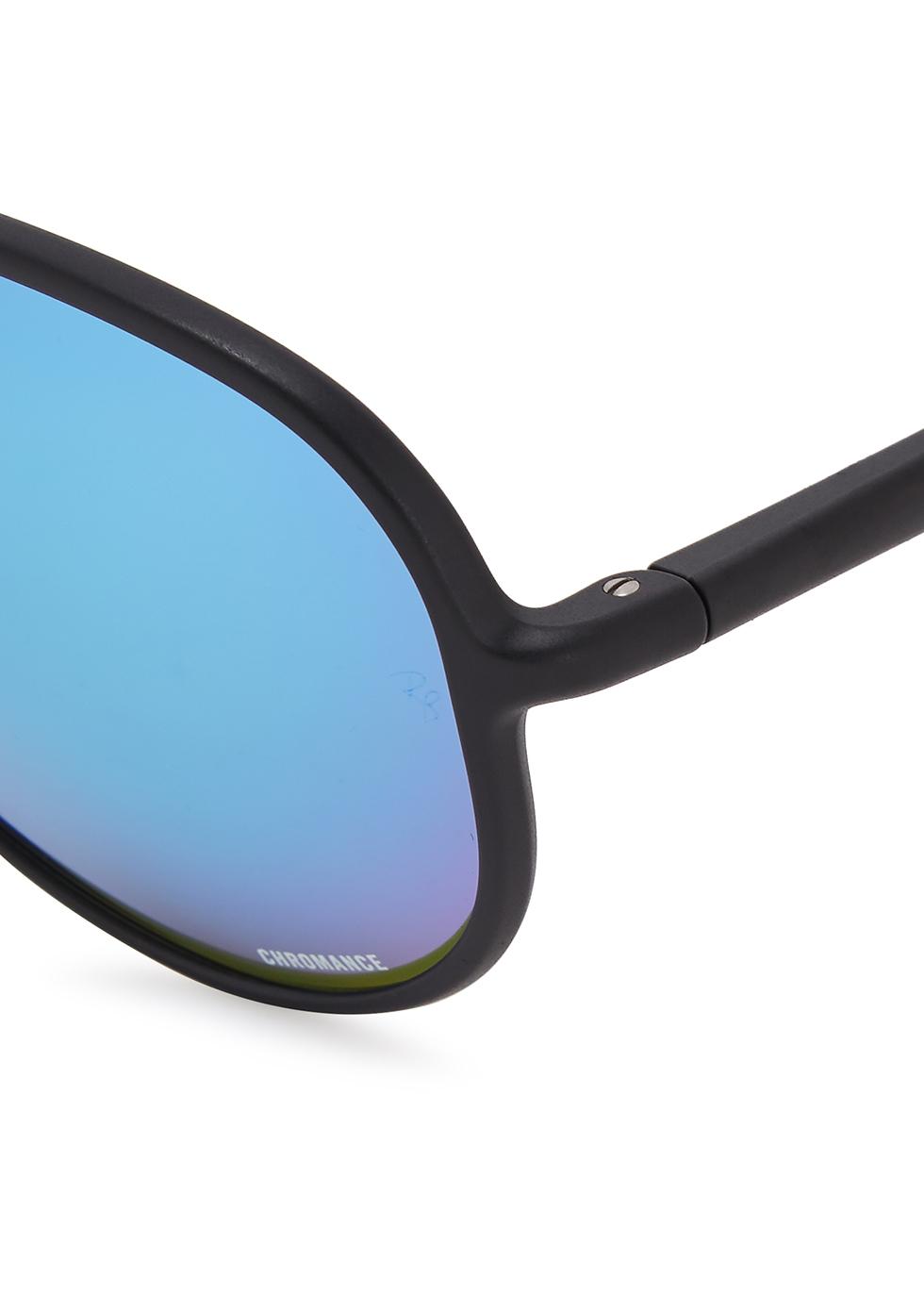 Aviator black mirrored sunglasses - Ray-Ban