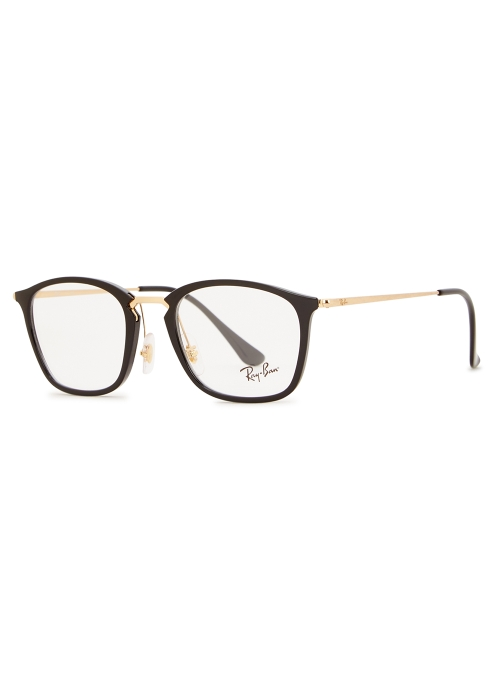 a780ac008e Ray-Ban Black clubmaster-style optical glasses - Harvey Nichols