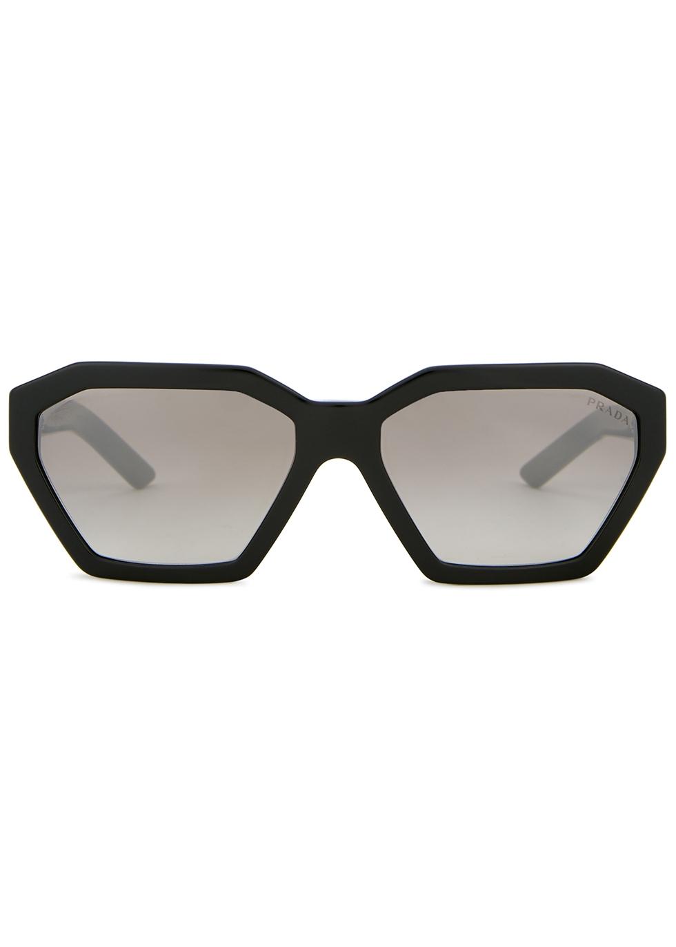 Milllennials heptagon-frame sunglasses - Prada