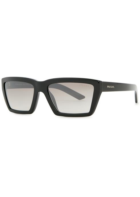 8729f5ae66d Prada Conceptual square-frame sunglasses - Harvey Nichols