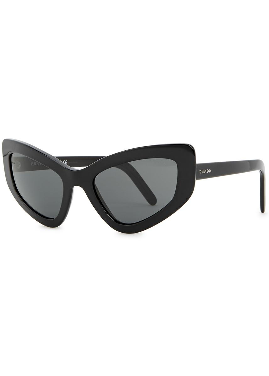 289e6d601d Black cat-eye sunglasses