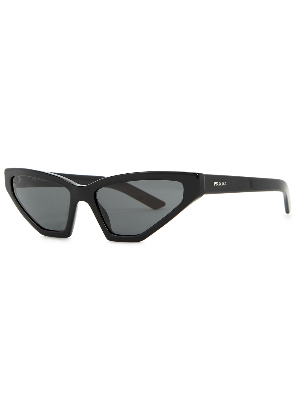 Black cat-eye sunglasses - Prada