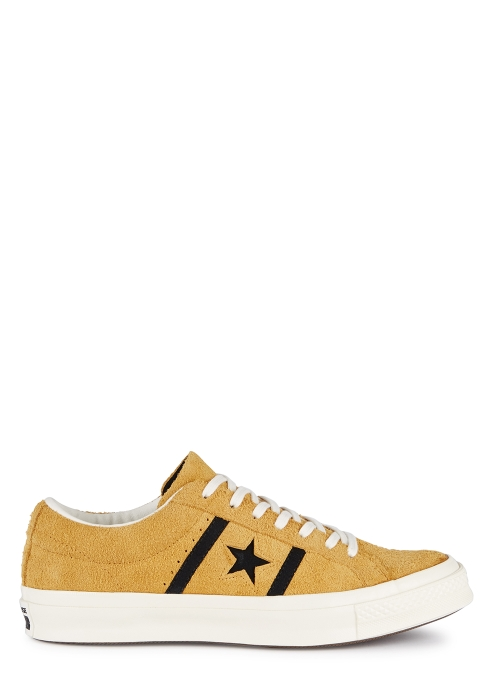 0caee0d2e07a78 Converse One Star Academy OX yellow suede trainers - Harvey Nichols