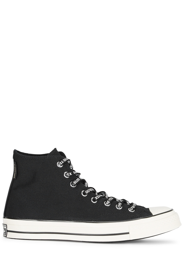 1b41cdf0b891d7 Chuck 70 Gore-Tex HI black canvas trainers ...