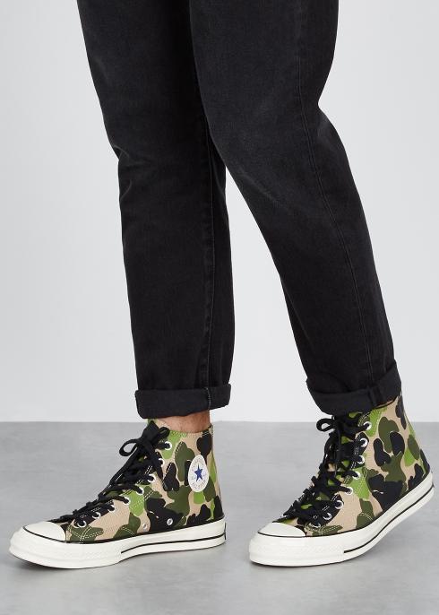 97d50744989 Converse Chuck 70 camouflage-print hi-top trainers - Harvey Nichols