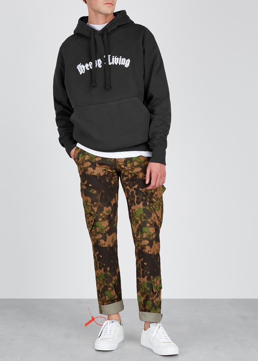 Heavy Living anthracite cotton sweatshirt - Last Heavy