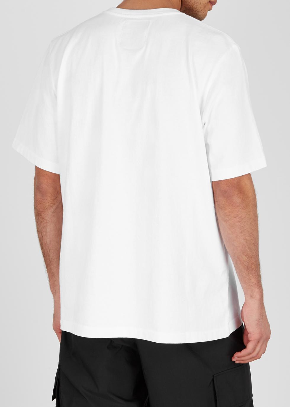 White oversized cotton T-shirt - Last Heavy
