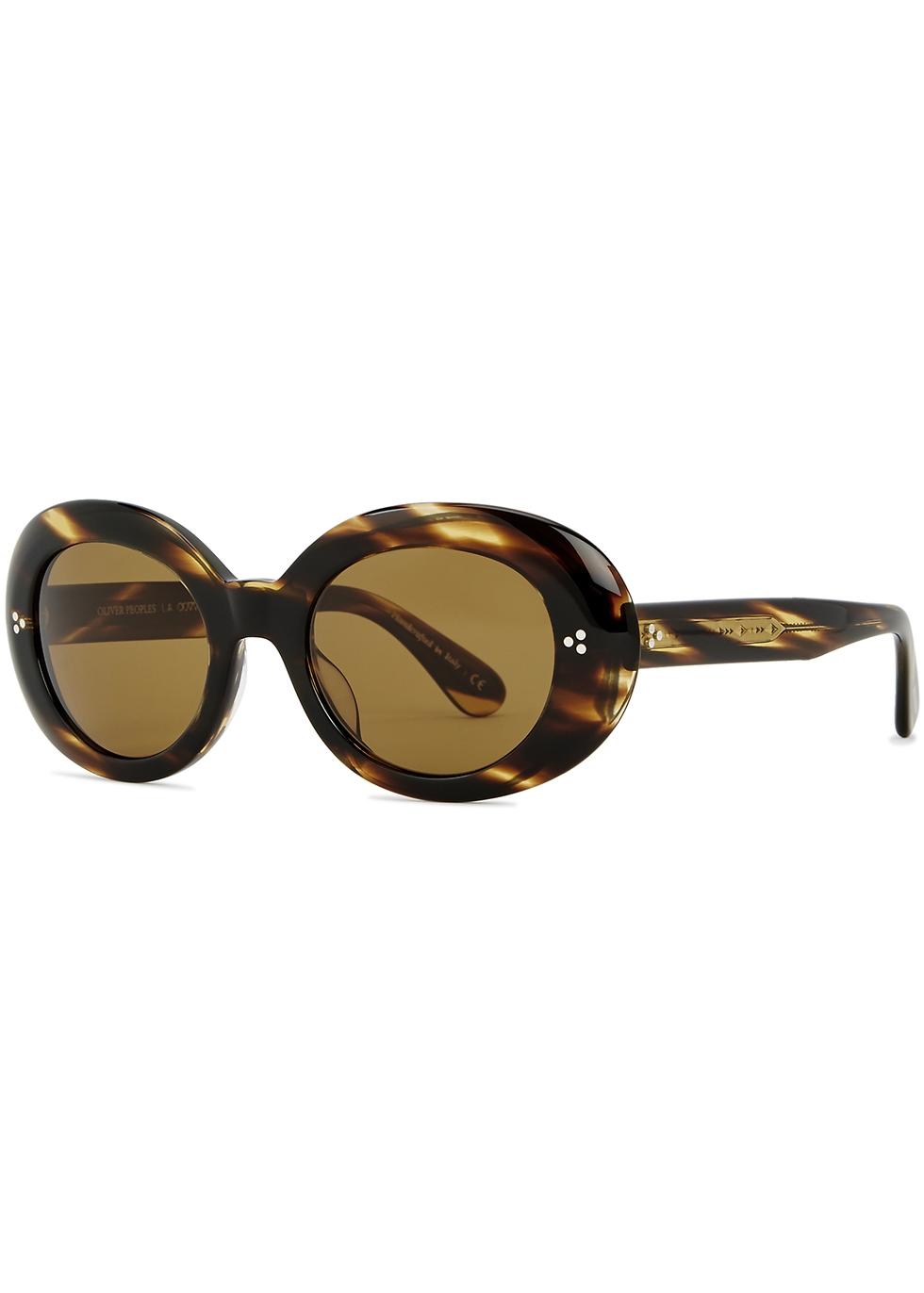 Erissa round-frame sunglasses - Oliver Peoples