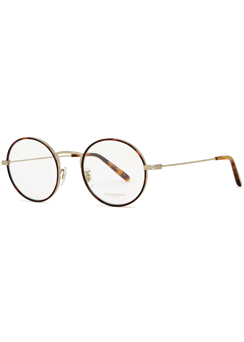 Ellerby mahogany optical glasses - Oliver Peoples