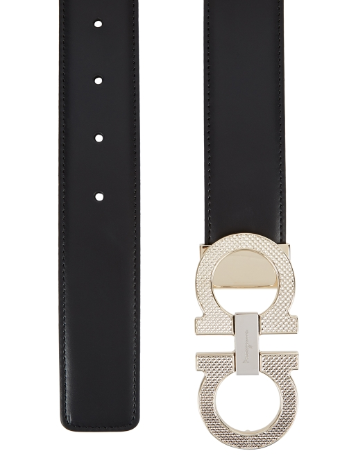 caf0c45a34 Salvatore Ferragamo Gancini reversible leather belt - Harvey Nichols