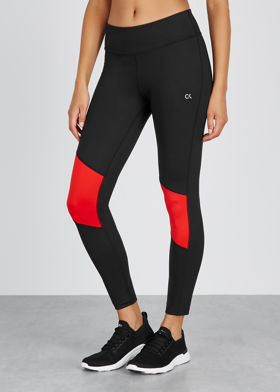 Black stretch leggings - Calvin Klein Performance