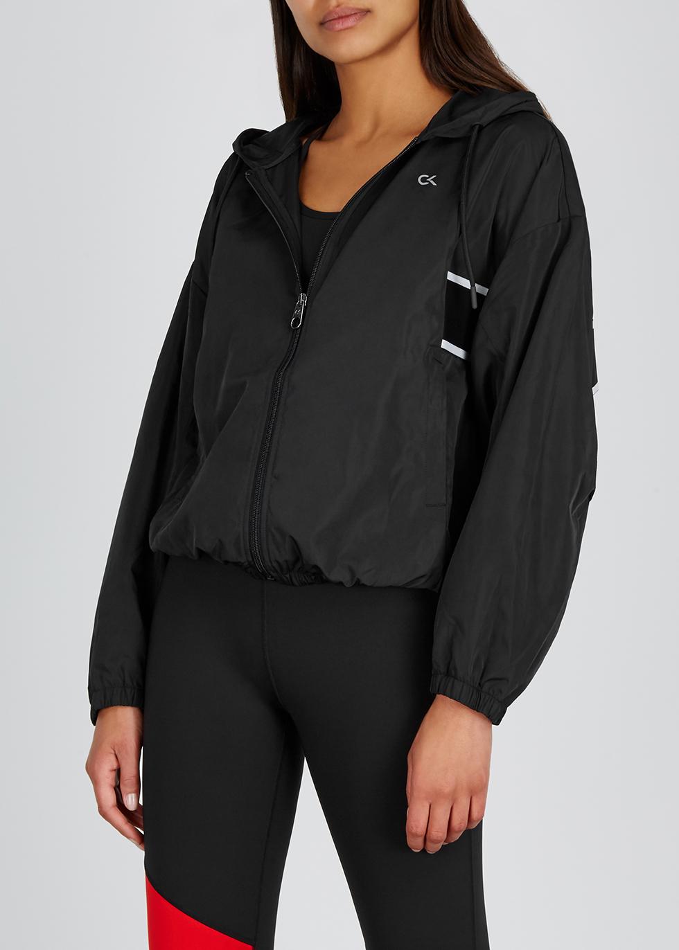 Black hooded shell jacket - Calvin Klein Performance