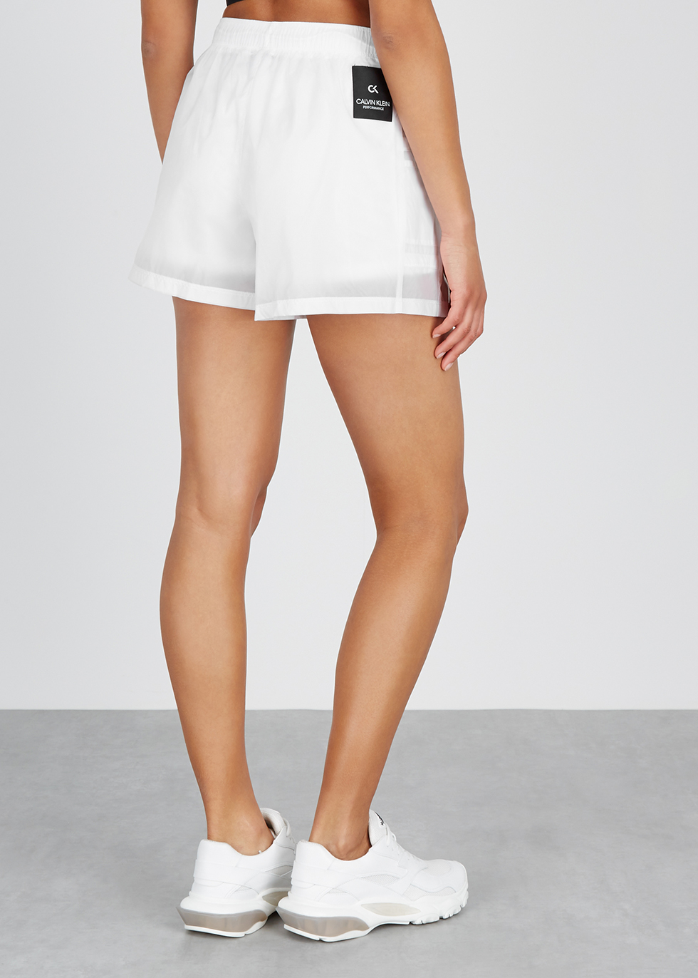 White shell shorts - Calvin Klein Performance