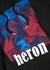 Black printed cotton sweatshirt - Heron Preston