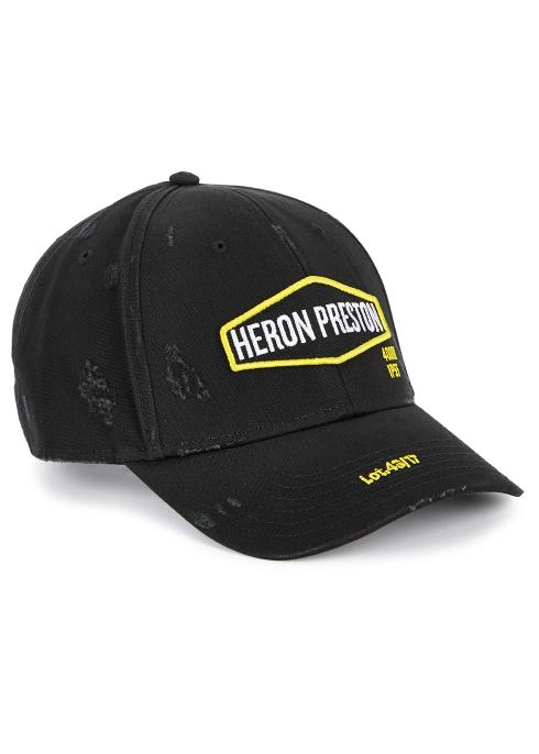 Heron Preston Harley black cotton cap - Harvey Nichols a3910a6a5dc