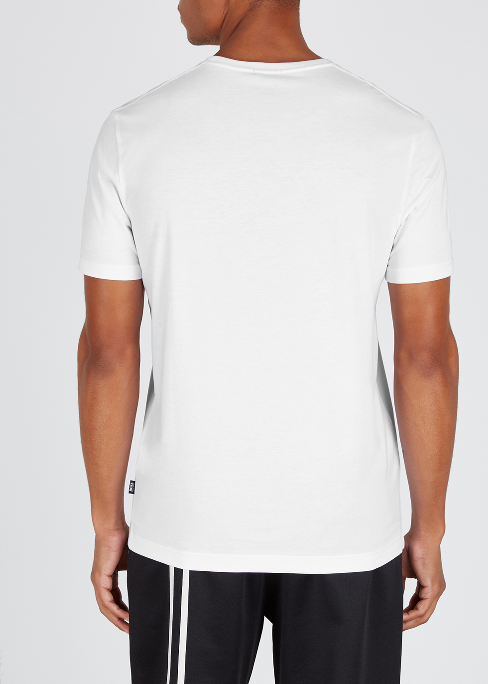 Tiburt white cotton T-shirt - HUGO